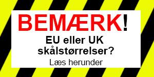 EU UK skålstørrelser