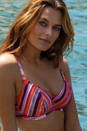 Freya Swim - Bali Bay Bikini BH med dyb udskæring G-L skål