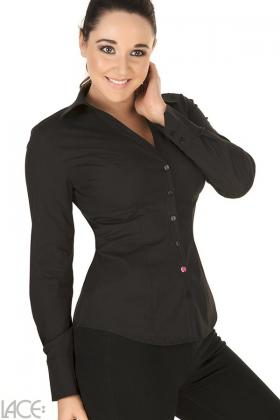 LACE Lingerie - Classic Shirt Skjorte-bluse F-H skål