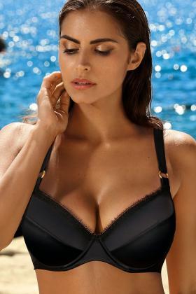 Ewa Bien - Bikini BH med dyb udskæring E-I skål - Ewa Bien Swim Halma