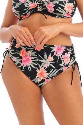 Elomi - Dark Tropics Bikini Høj trusse - Regulerbar