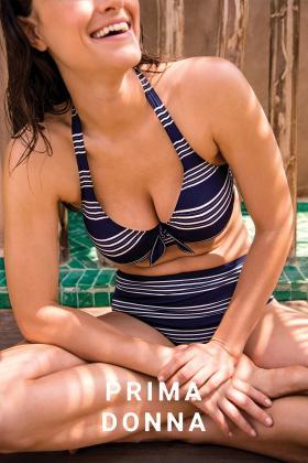 PrimaDonna Swim - Mogador Bikini BH med dyb udskæring D-G skål