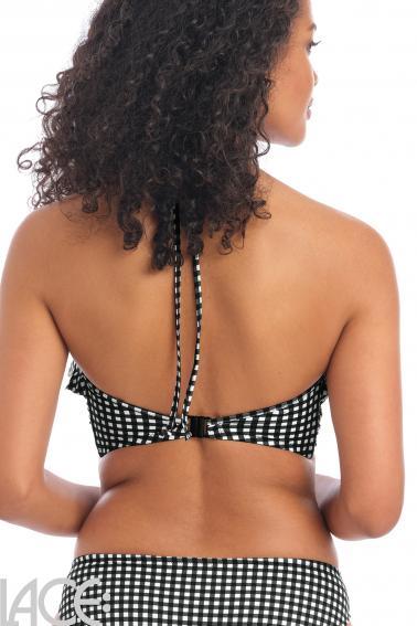 Freya Swim - Check In Bikini Bikini Bandeau BH med aftagelige stropper E-I skål