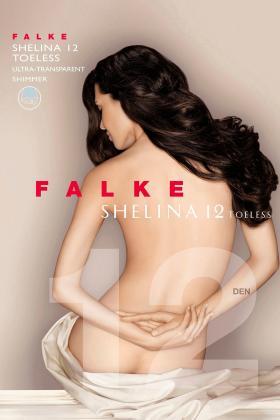 Falke - Shelina strømpebukser med åben tå