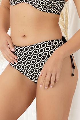 Nessa - Bikini Høj trusse - Regulerbar - Nessa Portofino