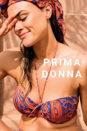 PrimaDonna Swim - Casablanca Bikini Bandeau BH med aftagelige stropper D-G skål