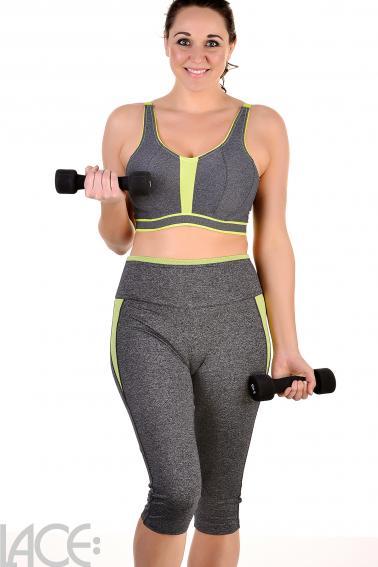 PrimaDonna Sport - The Sweater Sports BH med bøjle og foret i skålen D-G skål