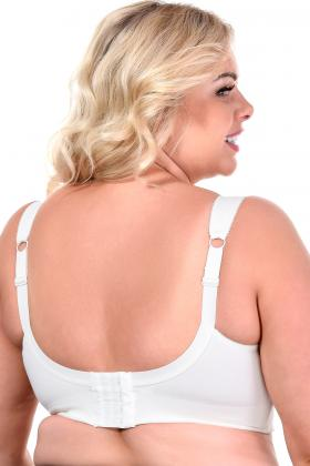 Rosme Lingerie - Bomuld BH uden bøjle F-H skål - Rosme Clean Cotton