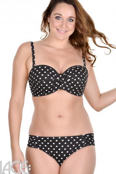 Panache Swim - Anya Spot Bikini Bandeau BH DD-G skål
