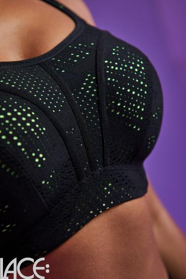 Panache Sport - Sports BH med bøjle E-J skål