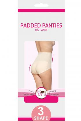 Bye Bra - Padded Panties High Waist